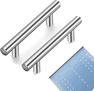"Ravinte 20 Pack | 6'' Cabinet Pulls Brushed Nickel Stainless Steel Kitchen Drawer Pulls Cabinet Handles 6""Length, 3-3/4"" H..."