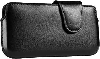Sena 826501 Laterale Leather Holster for iPhone 5 & 5s - 1 Pack - Retail Packaging - Black