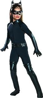 Rubies Dark Knight Catwoman Girl's Halloween Costume, Medium