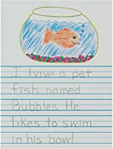 Pacon 2656 Newsprint Handwriting Paper, Picture Story, 7/8