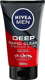 NIVEA MEN DEEP Antibacterial Face Wash, 100 ml