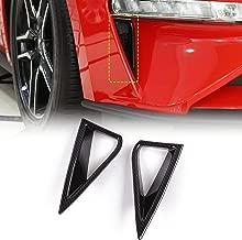 Voodonala for Mustang Carbon Fiber Daytime Running Lights DRL Trim fit 2018 up Ford Mustang (Carbon Fiber Grain)