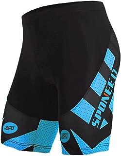 Sponeed Men's Cycling Bike Shorts Biking Spin Gel Padded Bicyce Wear Half Pants Tights