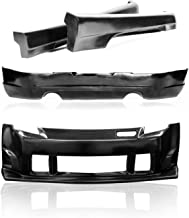 KBD Body Kits Compatible with Nissan 350Z 2003-2008 ING Style 4 Piece Flexfit Polyurethane Full Body Kit. Extremely Durable, Easy Installation, Guaranteed Fitment, Made in the USA!