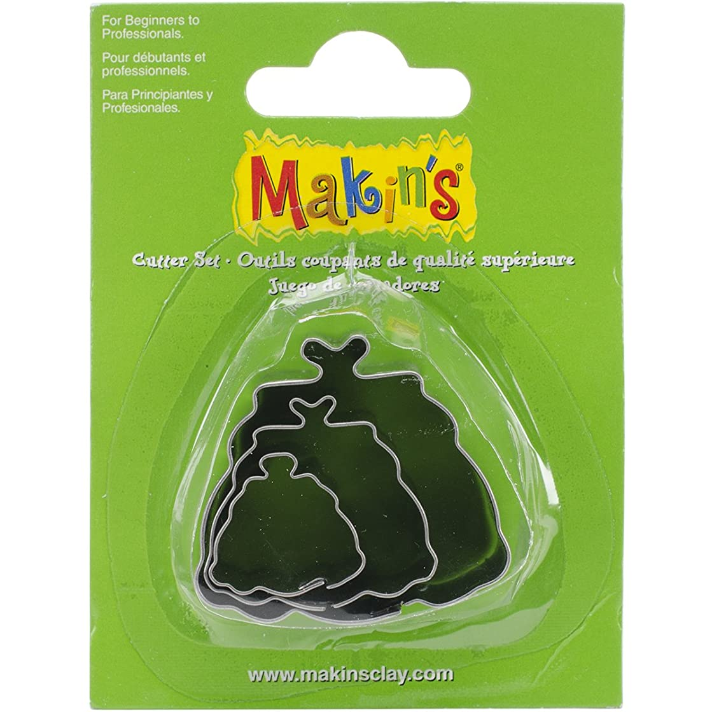 Makin's USA Makin's Clay Cutters 3/Pkg-Hand Bag