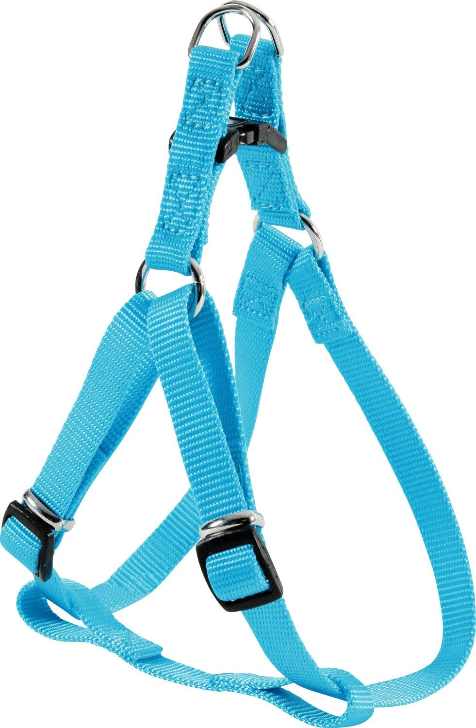 Zolux Nylon Strap Adjustable Free Shipping Cheap Bargain Gift Dog Year-end annual account Harness Turquoise Plain Colours