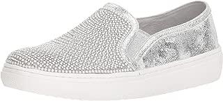 Women's Goldie-Rhinestone and Pearl Embellished Slip on Sneaker