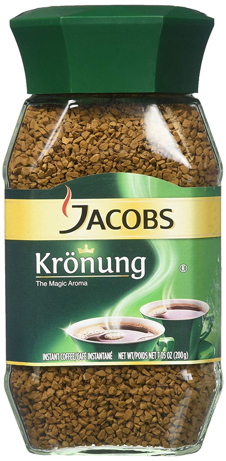 Jacobs Kronung Instant Coffee 200 Gram Ounce 7.05 Cheap mail order shopping Pack Indefinitely 6 of