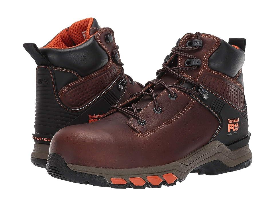 Timberland PRO Hypercharge 6 Composite Safety Toe (Brown Teak Trailblazer) Men