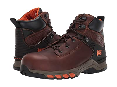Timberland PRO Hypercharge 6 Composite Safety Toe (Brown Teak Trailblazer) Men