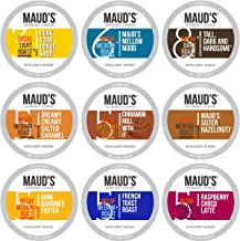 Maud's Decaf Coffee Variety Pack, 80ct. Recyclable Single Serve Decaf Coffee Pods..