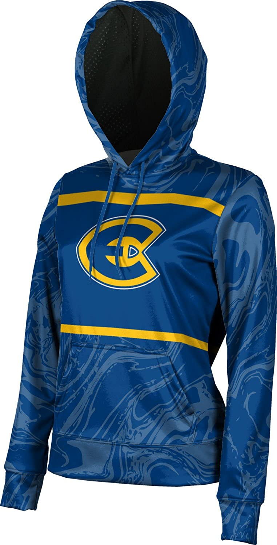 University of Wisconsin-Eau Claire Girls' Pullover Hoodie, School Spirit Sweatshirt (Ripple)