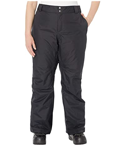Columbia Plus Size Bugabootm Omni-Heat Pants (Black) Women