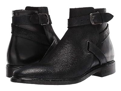 John Varvatos Collection Irving Welted Jodphur Boot (Black) Men