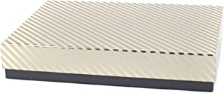 Hallmark Signature Large Gift Box (Gold Stripe) for Birthdays, Anniversaries, Christmas, Hanukkah, Holidays and More