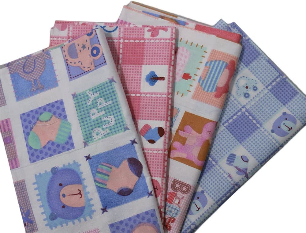 25% OFF Generic Animal Grid Wholesale Pattern Cotton Sewing Fabric for Hand