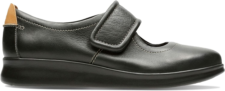 Clarks Un Un Sydney, Damen Schnürhalbschuhe Schwarz schwarz  beste Qualität zum besten Preis