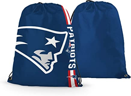 93cd4fc6a1d RongJ- store NFL Football Basketball Team Logo Drawstring Backpack Gym Bag  - can Pick Team