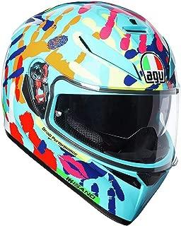 AGV Unisex-Adult Full-face-Helmet-Style Motorcycle (Multi, X-Small)