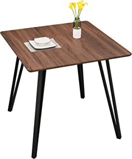 GreenForest 31.5'' Dining Table Small Square Kitchen Room...