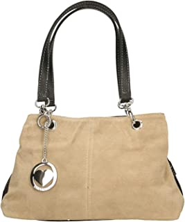 Chicca Borse Bag Borsetta a Mano in Pelle Made in Italy 32x20x14 cm