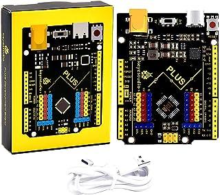 KEYESTUDIO R3 Board Scheda ATmega328P ATMEGA16U2 con Cavo Type C Compatibile con i progetti IDE di Arduino Conforme alla