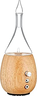 Organic Aromas Raindrop 3.0 Nebulizing Essential Oil Diffuser For Aromatherapy With Touch Sensor And Magsafe-Style Electri...