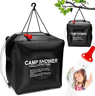 40L Solardusche Campingdusche Heizung Brause Solar Camping Dusche  6 W