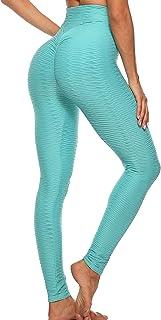 FITTOO Mallas Pantalones Deportivos Leggings Mujer Yoga de Alta Cintura Elásticos y Transpirables para Yoga Running Fitnes...