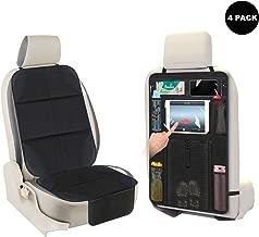 ISOFIX kompatibel Rutschfest und widerstandsf/ähig AOAFUN 4 Pack Autositzschutz Bester Schutz f/ür die Sitze von Kindern und Babys Oxford 600D Schwarz