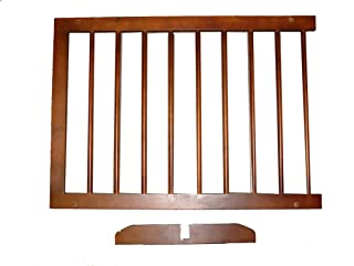 Cardinal Gates Step Over Gate Extension - Walnut-5 pounds, 1year mfg defect (SGX WA)