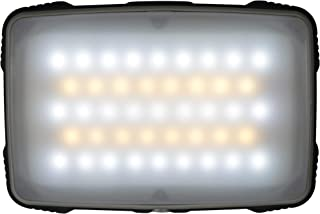 UST Lightweight and Compact Slim LED Emergency Camp Light, Rechargeable Light, White and Amber LEDs for Warm and Cool Light Options