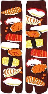 Japanese Style Socks, TABI-Socks, SUSHI Design Men's Socks