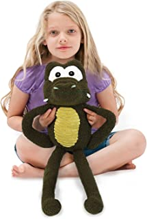 Stuffed Animal,Soft Kids Plush Toy Pillow 23.5 Inch, Perfect Baby Girl Boy Gifts for Children' Day (Crocodile)
