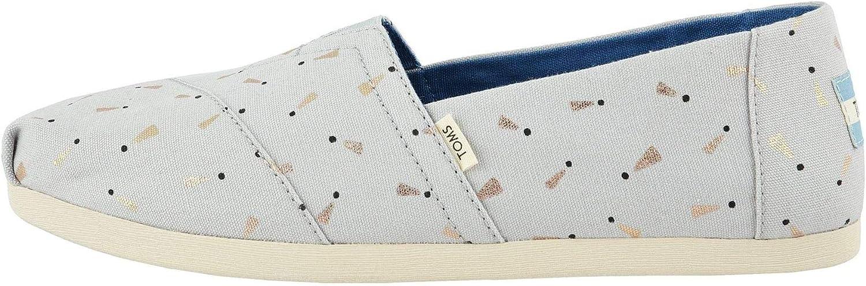 TOMS womens Alpargata flats shoes Glacier Grey 超安い US 6 お歳暮