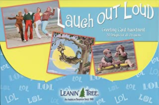 Laugh Out Loud [AST90722] Humorous Greeting Card Assortment by Leanin' Tree - 20 Cards with Full-Color interiors and 22 Designed envelopes