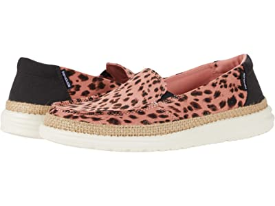 Hey Dude Lena (Leopard Rose) Women