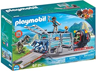 PLAYMOBIL Enemy Airboat with Raptor Building Set
