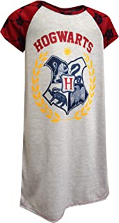 AME Sleepwear Girls Harry Potter Hogwarts Crest Nightgown