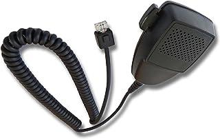 vhbw Altavoz-micrófono Compatible con Motorola Serie GTX, LCS2000, LSC200, Serie LTS, LTS2000, M10, M100, M120, M1225, M13...