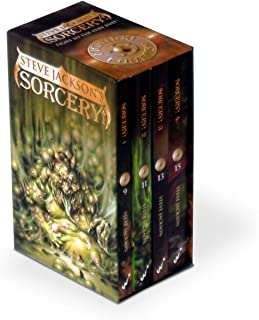 Fighting Fantasy Sorcery Box Set : Sorcery 1-4 (The Shamutanti, Khare - Cityport of Traps, the Seven Serpents, the Crown of Kings)
