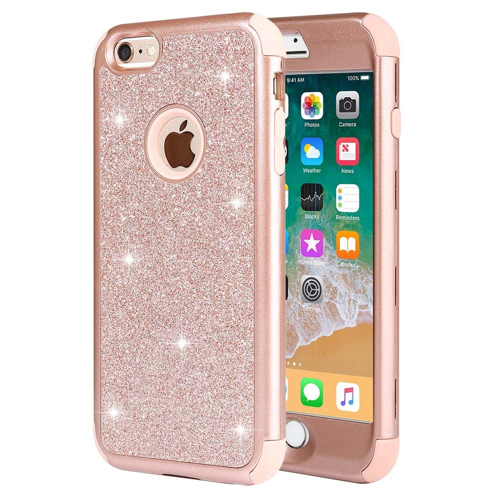 fashionable iphone 6s cases amazon comiphone 6 plus case, iphone 6s plus case, anuck 3 in 1 hybrid shockproof