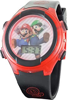 Mario & Luigi Kid's Digital Light Up Watch GSM3020