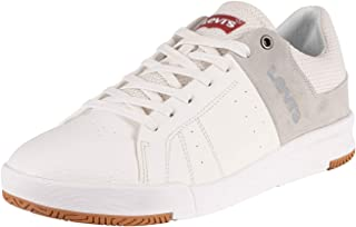 Levi's Men's Toyonal Leather Trainers, White