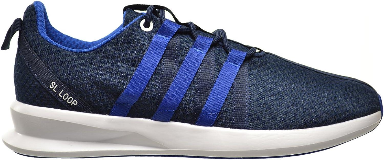 Adidas SL Loop Racer Men's shoes Collegiate Navy Collegiate Royal Running White c77003 (12 D(M) US)