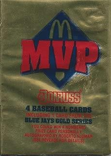 1992 mvp mcdonalds baseball cards