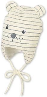 /Âge : 3-4 mois Gris Anthracite Taille : 39 cm Sterntaler Bonnet B/éb/é gar/çon avec Mignon Visage dOurs et Oreilles Saillantes