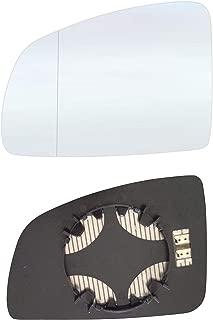 #AM-AIQ709-RWAH Cristal de espejo retrovisor derecho para copiloto con placa y calefacci/ón