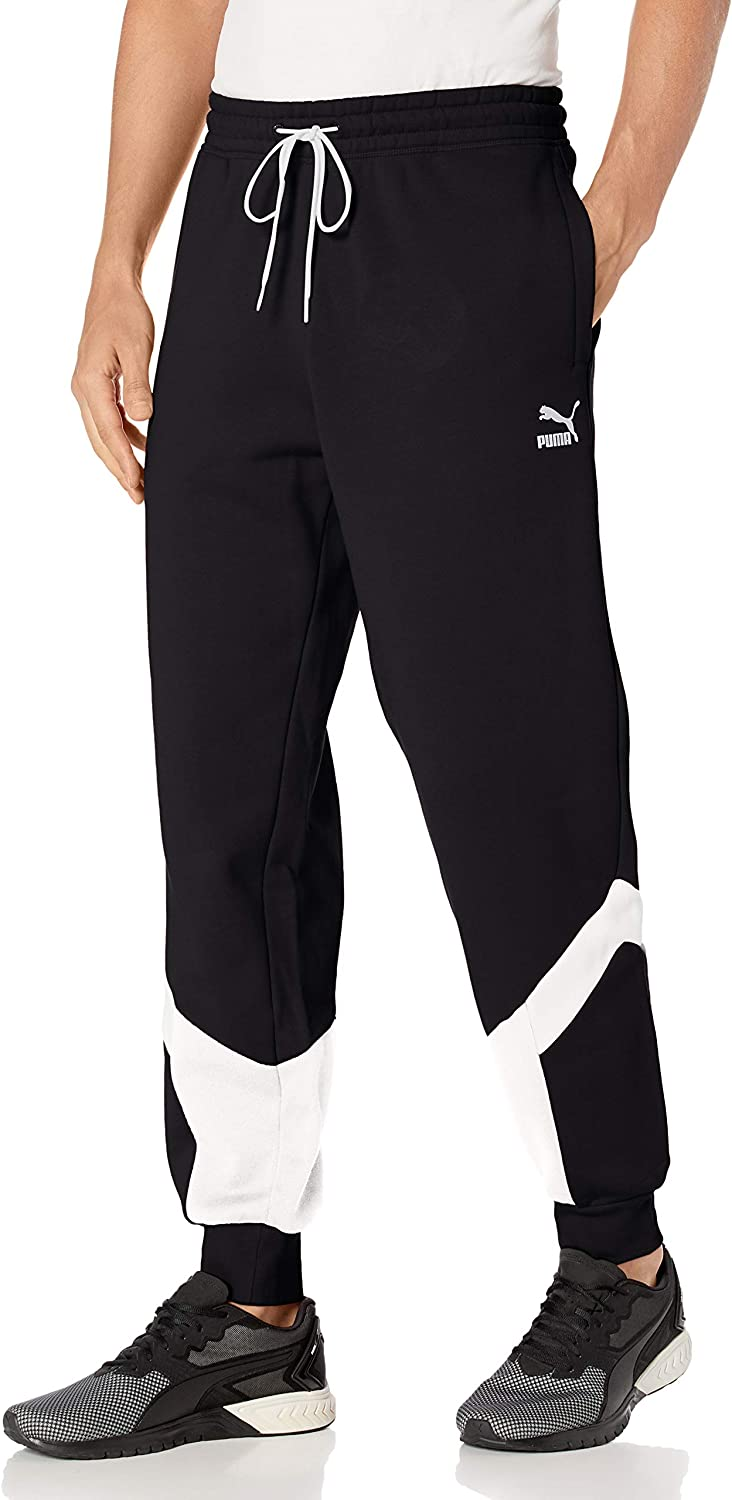 PUMA Men's Iconic Outlet sale 2021 spring and summer new feature MCS Pants Track Fleece