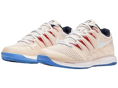 Nike Air Zoom Vapor X (Light Orewood Brown/White/Sunblush/Obsidian) Women